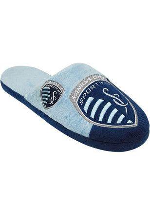 30% OFF | Sporting Kansas City Color Block Slide Slippers