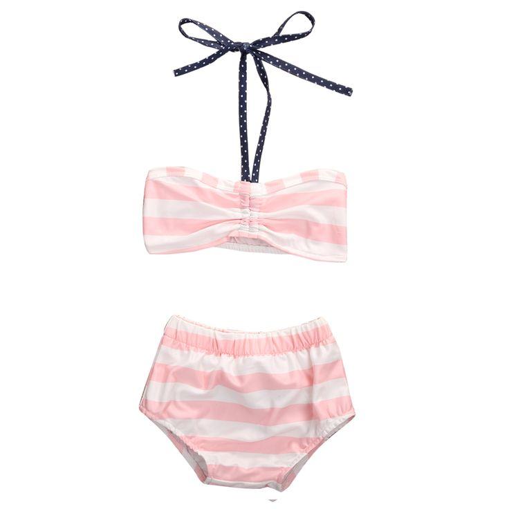 $4.80 (Buy here: https://alitems.com/g/1e8d114494ebda23ff8b16525dc3e8/?i=5&ulp=https%3A%2F%2Fwww.aliexpress.com%2Fitem%2FSummer-2017-Cute-Striped-Child-Pink-Bikini-Bow-Swimwear-High-Waisted-Bathing-Suit-for-Kids-Baby%2F32793898023.html ) Summer 2017 Cute Striped Child Pink Bikini Bow Swimwear High Waisted Bathing Suit for Kids Baby Girls Biquini Children Swimwear for just $4.80