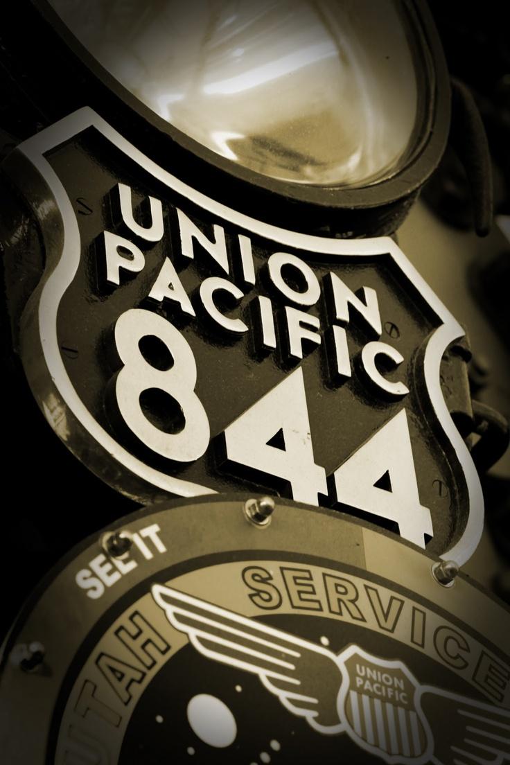 Union Pacific Steam Engine 844, Cheyenne, Wyoming
