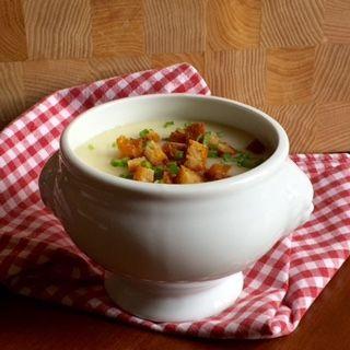 Knoblauchsuppe-zuppa d'aglio di Cecilia
