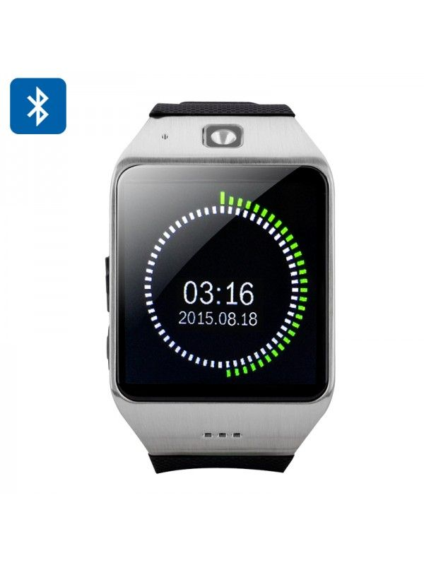 Uhappy UW1 Bluetooth Phone Watch (Sliver)