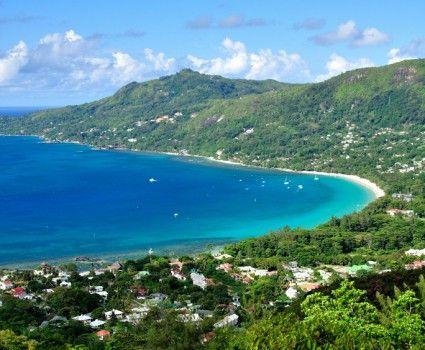 Mahé Beach in Seychelles
