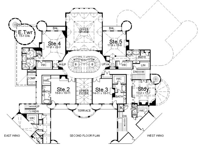 Balmoral   Castle Plans   Luxury Home Plans. 51 best Castle Floor Plans images on Pinterest
