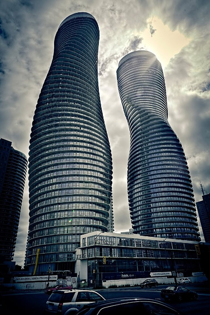 Absolute Towers - Marilyn Monroe Penthouses, Mississauga, Ontario, 2012 by MAD architects