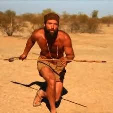 Matt Graham hunts with an atlatl. #MattGraham also sneaked up on a turkey and grabbed it! http://miami-water.com/blog/4341/dual-survival-odd-man-new/