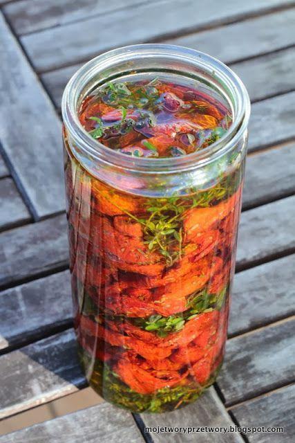 MojeTworyPrzetwory: Jak zrobić suszone pomidory?