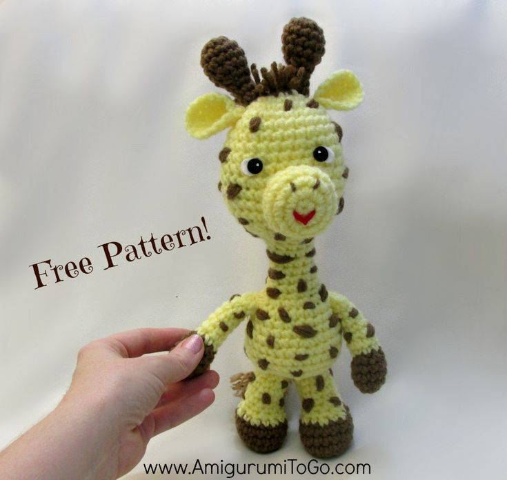 9 best images about Free Giraffe Crochet Patterns on ...