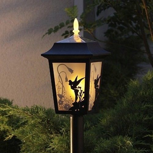 New Disney Tinker Bell Solar Light Lamp Lantern Garden Outdoor Light Japan