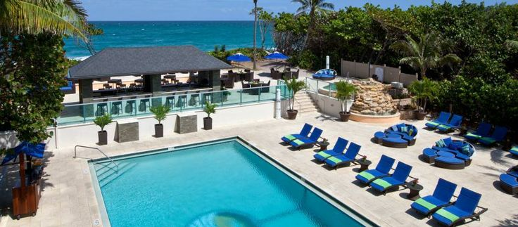 Jupiter Beach Resort near Palm Beach, FL. Love it!