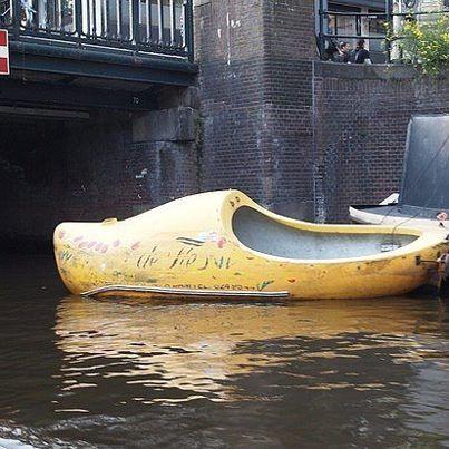 Wooden Shoe Boat