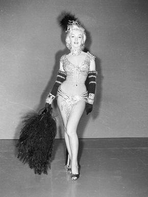 Marilyn Monroe,film,1953,Gentlemen Prefer Blondes