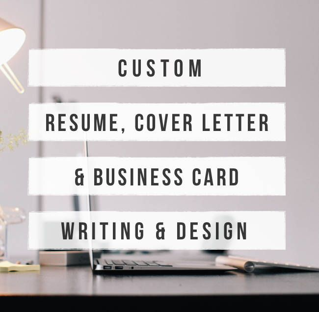 Custom resume writing and cover letter
