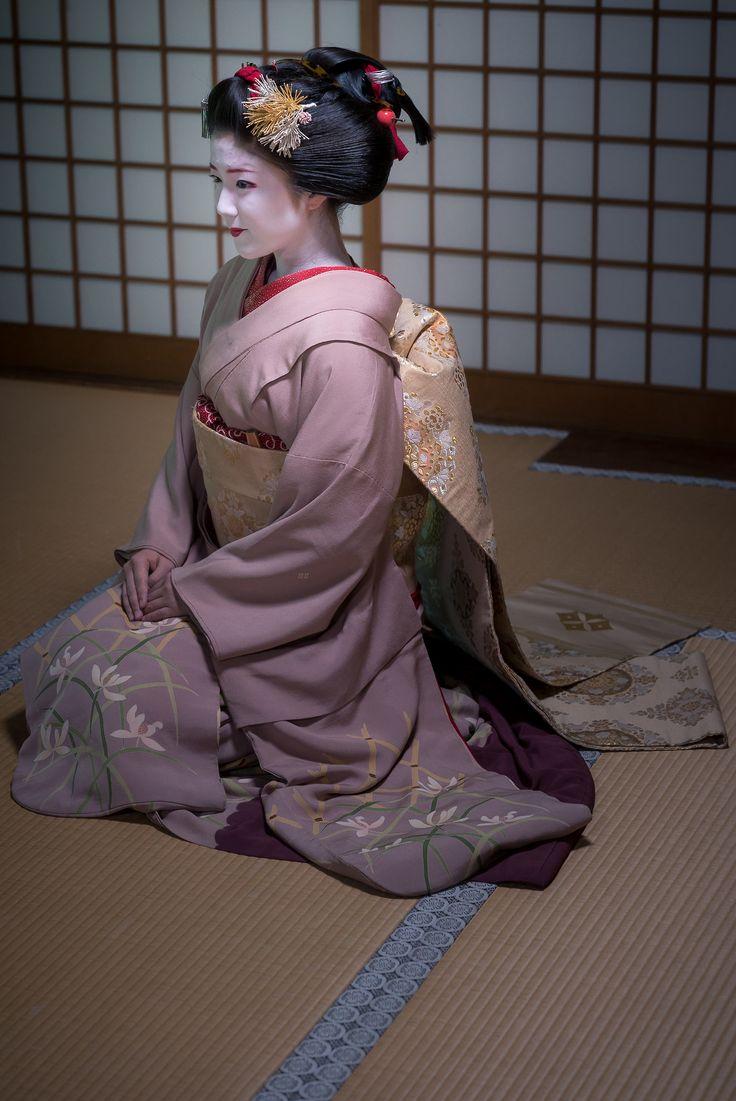 2017 maiko, Kamishichiken, Katsuna -Sakkou-