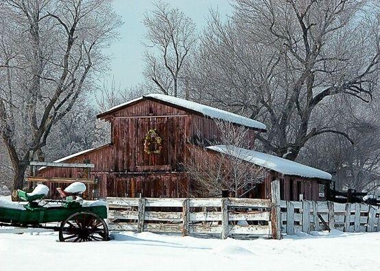 Barns by Peachgirl