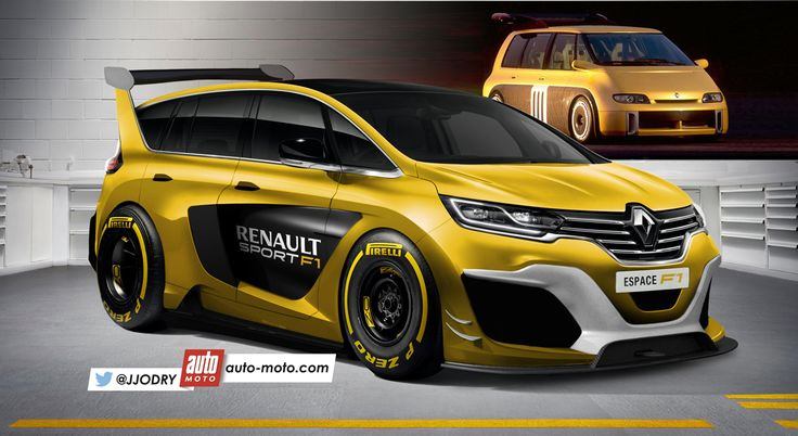 Renault Espace F1 2016