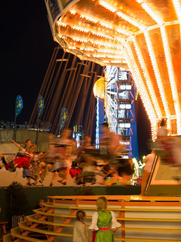 Merry-go-round at the #Oktoberfest in Munich.