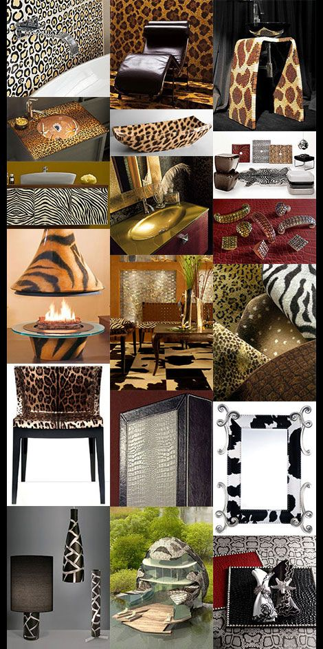 It's easy to go completely wild with the Animal Print Decor all over the home. With the great selection of Animal Patterns now available you can add a touch...