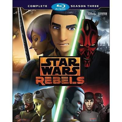 cds dvds vhs: Star Wars Rebels: The Complete Season 3 (Blu-Ray) -> BUY IT NOW ONLY: $36.99 on eBay!