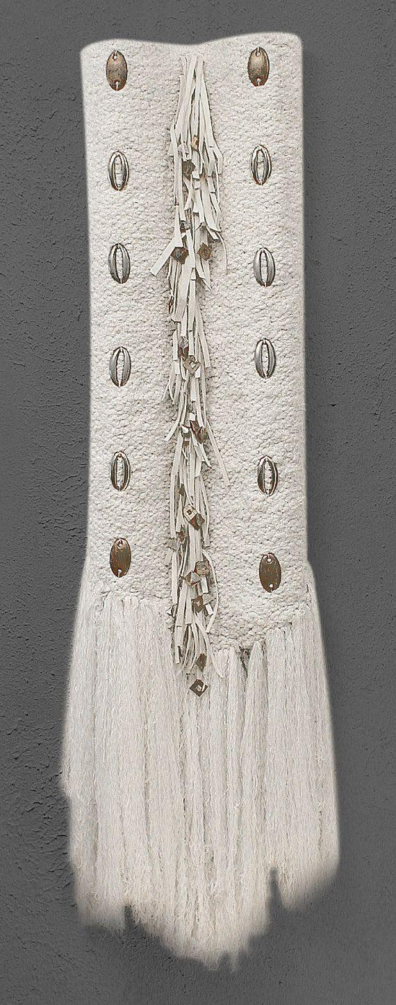 Entitled Silverado this mixed media fiber sculpture draws the soul and tugs the heart towards the western horizon.. $575,00, via Etsy.