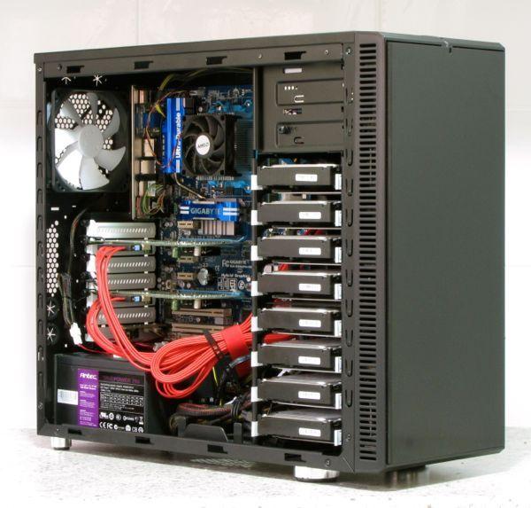 Nice setup using the Fractal Design R3 | Storage server ...