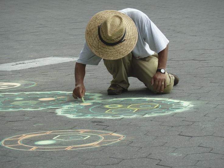Street artist....
