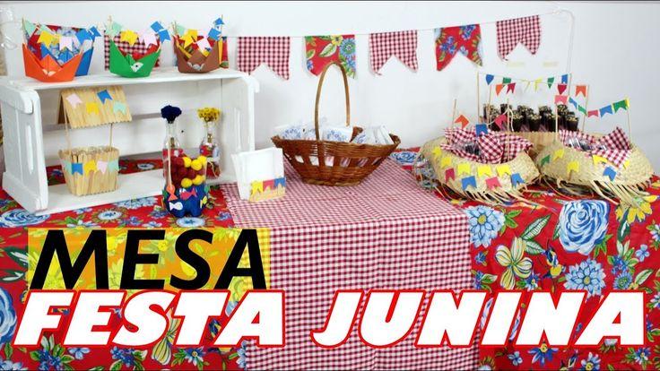 COMO MONTAR UMA MESA PARA FESTA JUNINA - FESTA JUNINA - FAÇA SUA FESTA |...