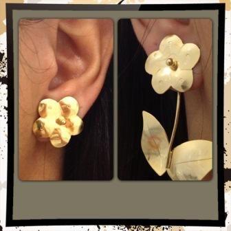 """""""Duplas"""" : Double use earrings!"""