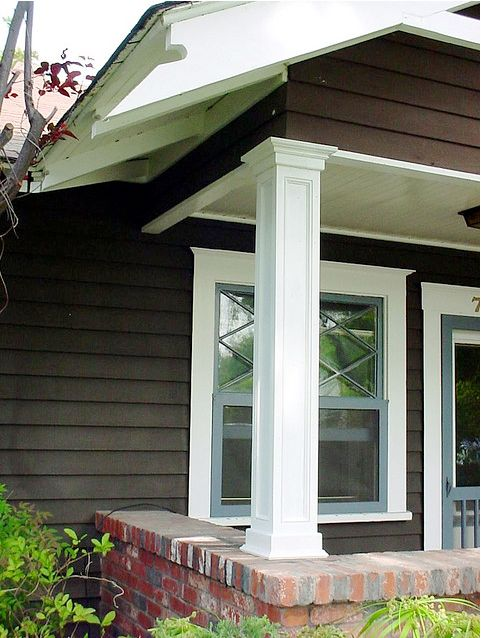 Porch Pillars And Columns : Thinking of beefing up our columns home outdoor