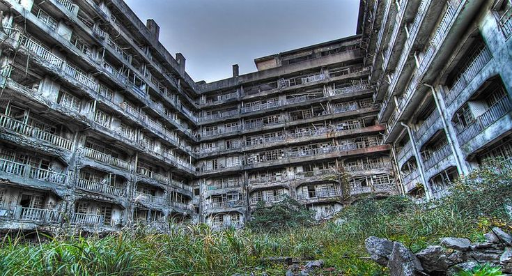 Hashima Island, Japan: Dreams Home, Japan, Hashima Islands, Cities, Ghosts Town, The Blocks, Abandoned Places, Blocks 65, The World