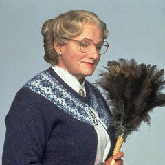 Honorable mention: Robin Williams made a pretty classy old lady in Mrs. Doubtfire.