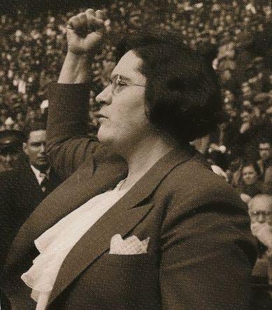 Spain - 1936. - GC - Federica Montseny, primera mujer ministra de Europa occidental Anarquista de la CNT-FAI