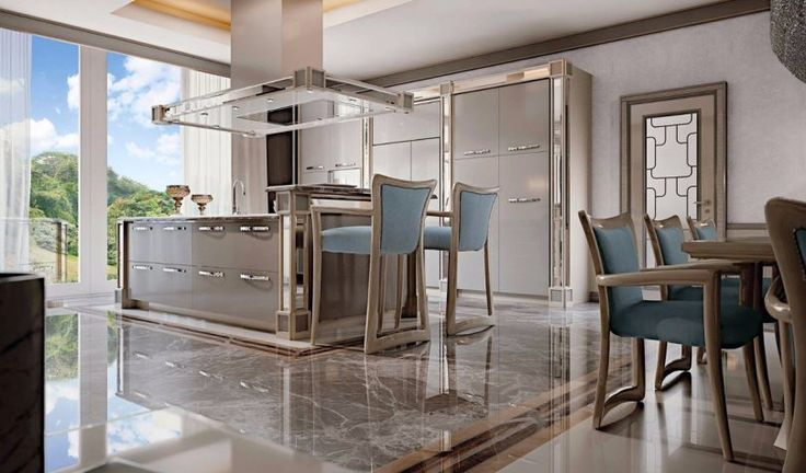 RAMPOLDI KITCHEN | KITCHEN,DINING ROOM | Luxury furniture - Eurooo #RAMPOLDIKITCHEN #KITCHEN #DININGROOM #cupboard #neoclassicl #Luxuryfurniture #Eurooo
