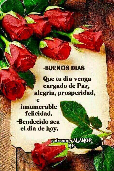 Buenos Días Chiquita Espero Te Hayas Aliviado Paty Good Morning
