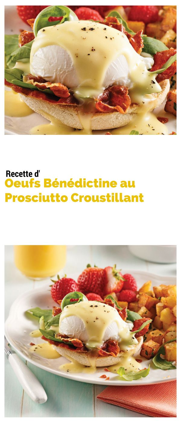 #oeuf #bénédictine #prosciutto