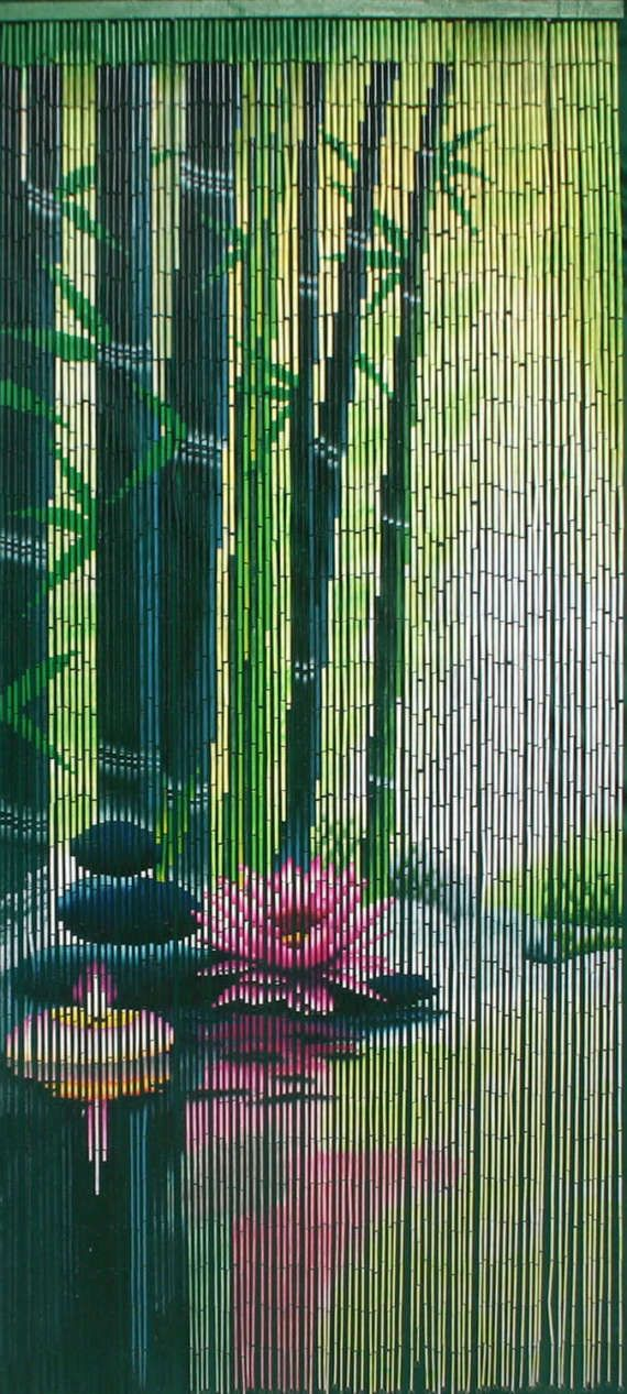 how to make bamboo beaded curtains