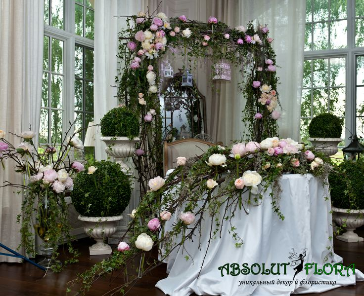 """Декор свадьбы в стиле """"Старинный Английский сад"""""""