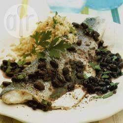 Gestoomde baars met zwarte bonen recept - Recepten van Allrecipes