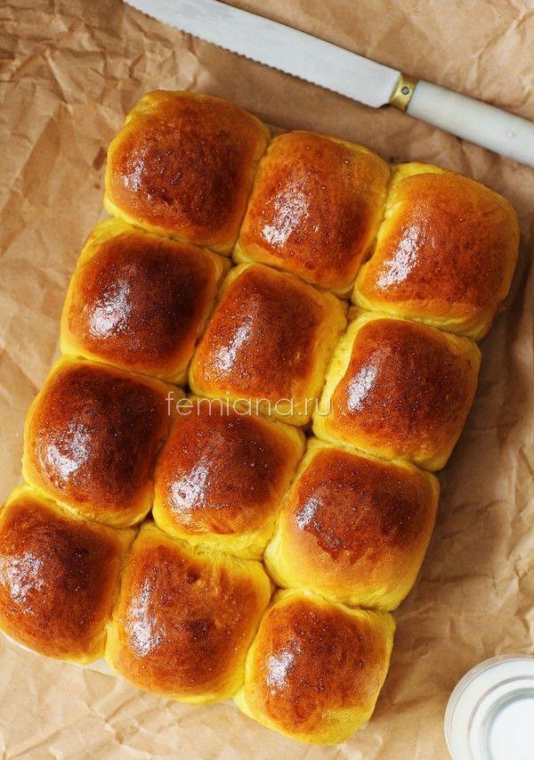 Рецепт самых вкусных, пышных и воздушных тыквенных булочек на сгущенке