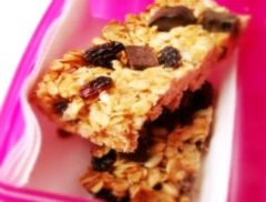 Homemade Muesli Bars Recipe - Lunch box