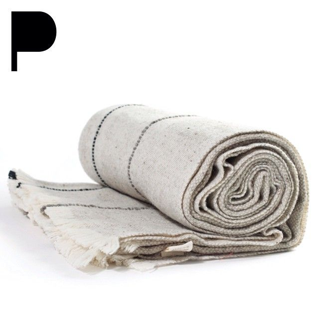 Teixidors 100% Ecological Merino Wool Throw. Www.providehome.com