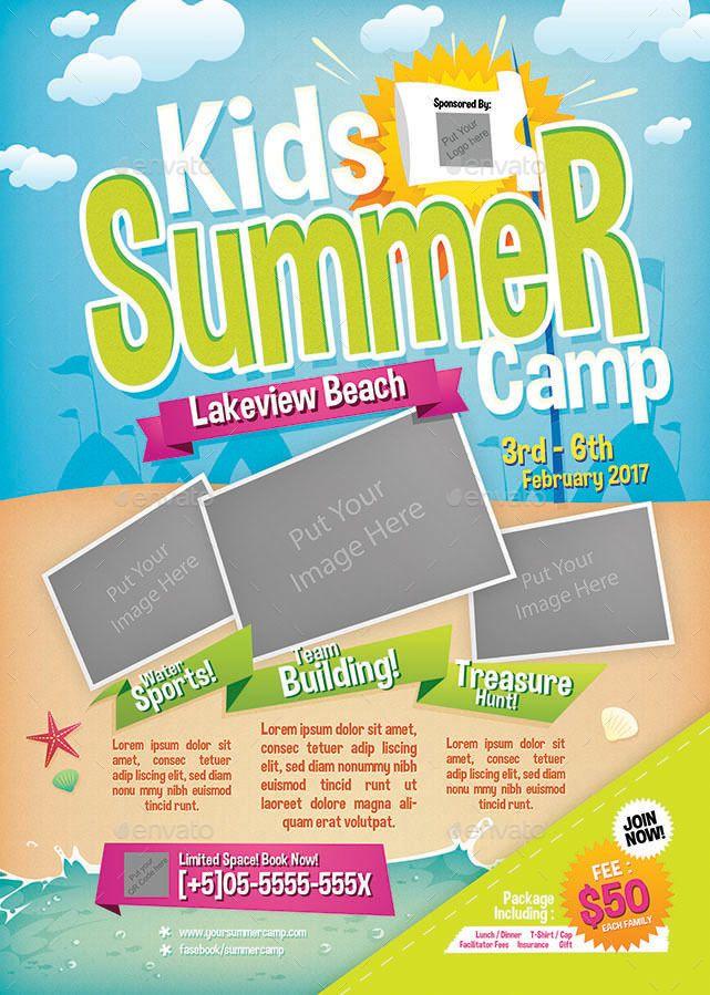 Kids Summer Camp Bundle 3 In 1 Summer Camps For Kids Summer