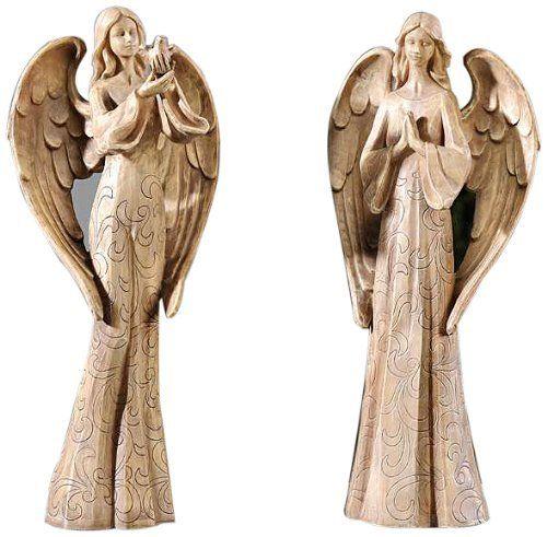 Gift Craft 15.6 Inch Polystone Angel Design Statues, Medium By Gift Craft.  $74.78. Memorial GardensGarden ...
