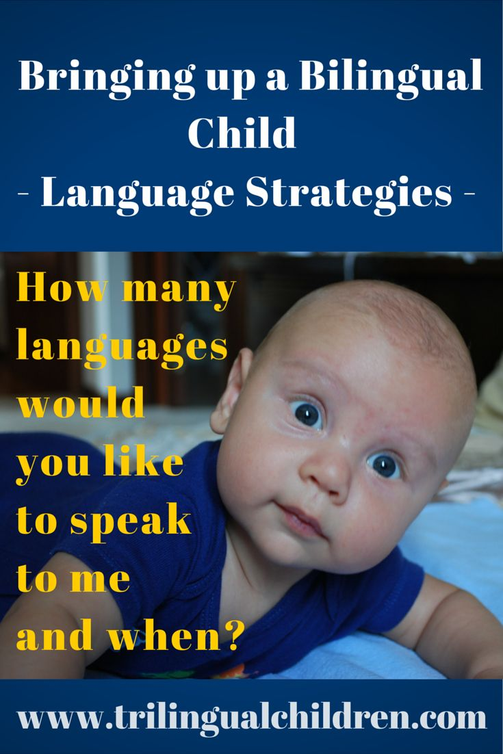 Wychowanie dziecka dwujęzycznego  bilingual child language strategies