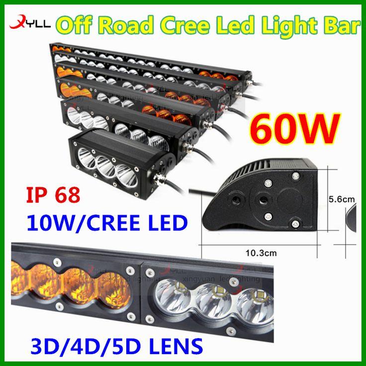 4x4 accessories off road amber led light bar combination emergency driving lightbar 10-30v DC