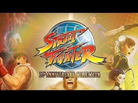 Celebrate Street Fighters 30th anniversary with 12 classic titles next May