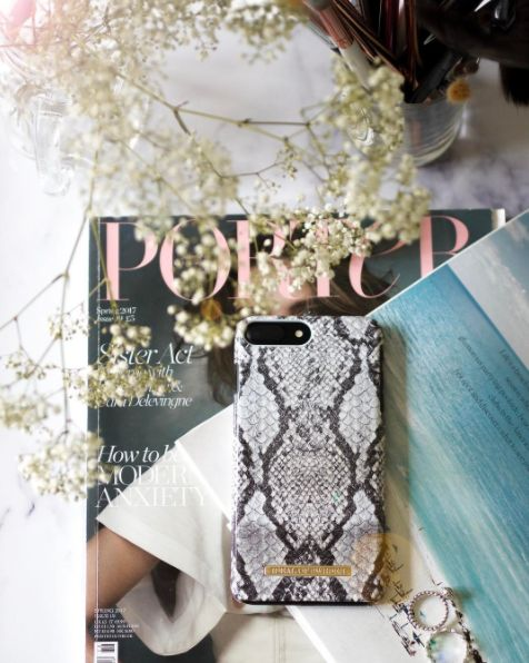 Python by lovely @staceylouisewhite - Fashion case phone cases iphone inspiration iDeal of Sweden #snake #carrara #gold #fashion #inspo #iphone