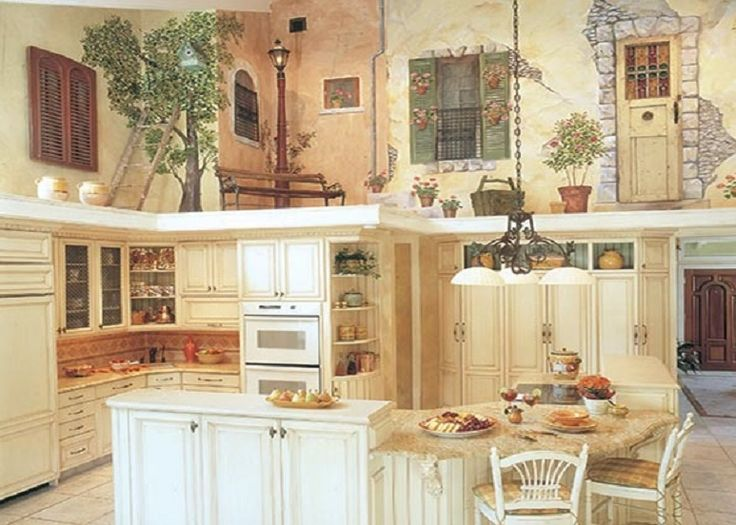 Creative Kitchen   Mural / Tromp Lu0027Oeil Walls