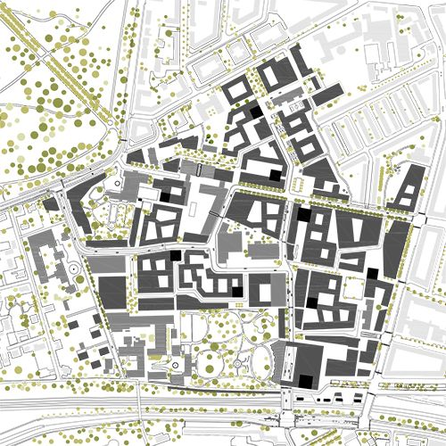 """Masterplan Carlsberg City by Entasis 