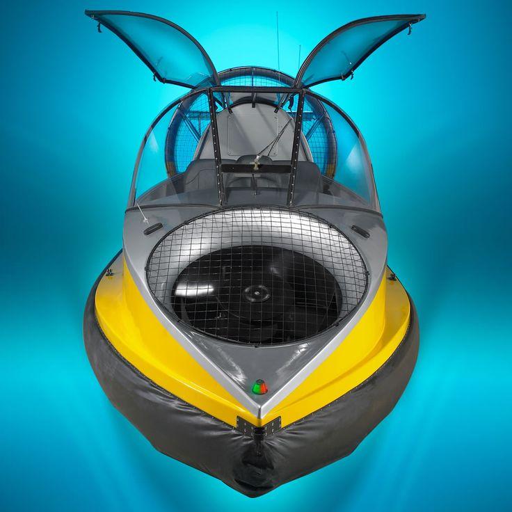 Flying Hovercraft by Hammacher Schlemmer