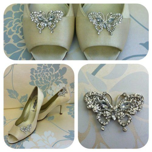 Delicate Crystal Butterfly Shoe Clips Pretty Pink Toes https://www.amazon.co.uk/dp/B00HZNVLIK/ref=cm_sw_r_pi_dp_x_AAdTyb8WY57Q2